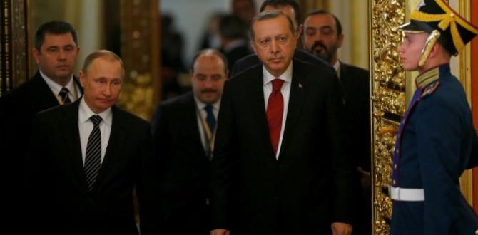 Erdoğan'dan Rusya'ya Suriye mesajı