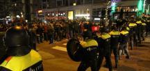HOLLANDA POLİSİNDEN TÜRKLERE SERT MÜDAHALE