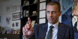UEFA Başkanı Ceferin'den değişiklik sinyali