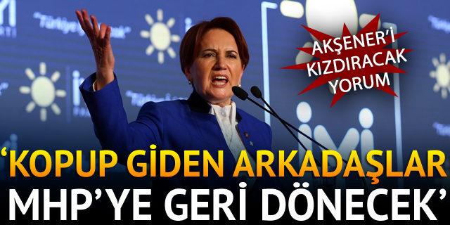 Akşener'in partisi İyi parti hakkında Sinan Oğan'dan çarpıcı yorum!