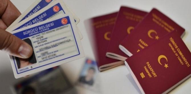Pasaport ve ehliyet hizmetlerinin devrinde süre uzatıldı