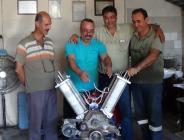 Kendi elektriğini üreten motor keşfettiler