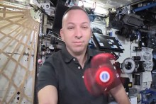 NASA astronotları uzayda stres çarkı çevirdi