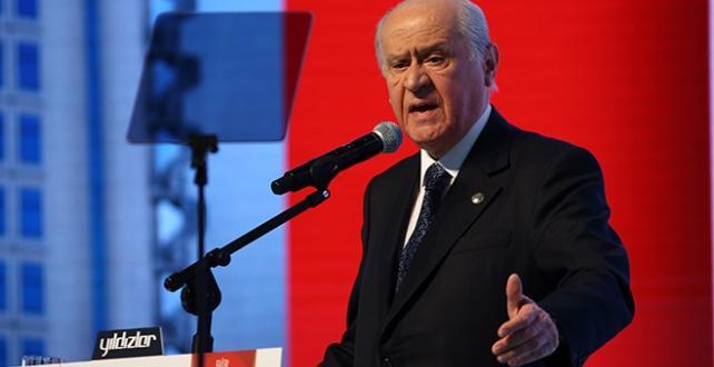 """MHP Genel Başkanı Bahçeli, """"Aramızdan kopan ülkücülerle helalleşmeye hazırım, kapımız açık"""