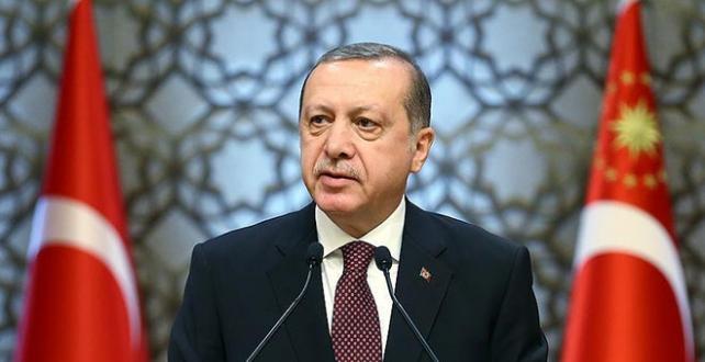 Cumhurbaşkanı Erdoğan,şehit olan polis memuru Yusuf Çelik'in ailesine başsağlığı telgrafı gönderdi