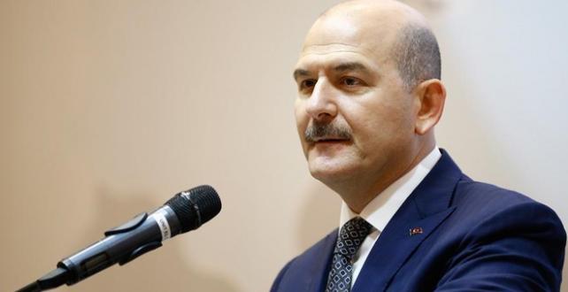 Bakan Soylu, bir hafta önce bomba yüklü bir aracın ve teröristlerin kıskıvrak yakalandığını açıkladı