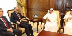 Katar Ulaştırma ve Haberleşme Bakanı Saliti,PTT AŞ Genel Müdürü Bozgeyik ile görüştü