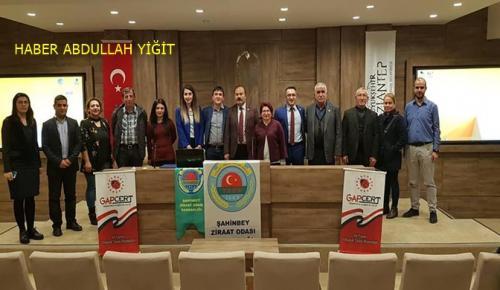 Gapcert ve Şahinbey Ziraat Odası Tarafından İyi Tarım Toplantısı Yapıldı