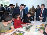 Ak Parti İl Başkanı Bahattın Yıldız ,Okul Pansiyonunu Ziyaret Etti