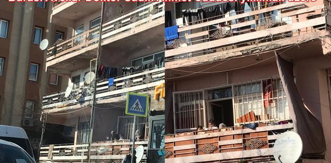 Burası Avcılar Doktor Sadık Ahmet Caddesi yıkılmak üzere