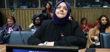 Aile, Çalışma ve Sosyal Hizmetler Bakanı Selçuk, BM Genel Merkezi'nde toplantıya katıldı