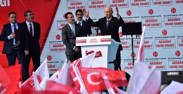 MHP Genel Başkanı Devlet Bahçeli, Cumhur İttifakı'nın milli hedeflerin ana kulvarı