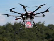 drone cihazı, termal kamera aracılığıyla algıladığı yangını merkez birimlere otomatik olarak iletecek