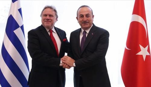 """Yunanistan Dışişleri Bakanı Katrugalos, """"Doğu Akdeniz'de Türkiye'nin de hakları var ve biz bunların farkındayız"""""""