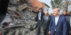 İçişleri Bakanı Süleyman Soylu,Denizli'deki depremin ardından tüm tespitlerin yapıldığını belirtti