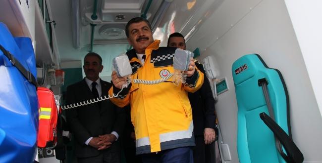 Sağlık Bakanı Koca,dijital ambulans dönemine geçilecek