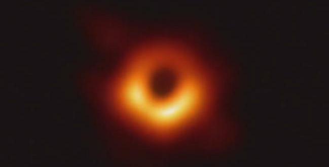 ABD Ulusal Bilim Vakfı'nın, Event Horizon Telescope ile çektiği kara delik fotoğrafı yayınlandı