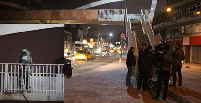 İstanbul Valiliği, Beyoğlu'nda bulunan bir şüpheli paketin İmha edildi