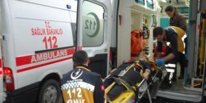 Tekirdağ'ın Malkara ilçesinde, öğrencileri taşıyan minibüsün devrilmesi sonucu 16 kişi yaralandı
