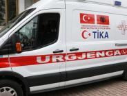 TİKA,Arnavutluk acil servis hizmetlerine 5 ambulans hibe edildi