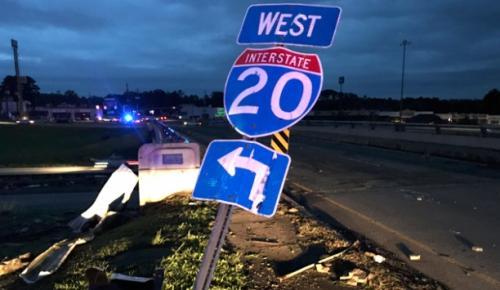 ABD'nin güneyine şiddetli yağışlar ve rüzgar nedeniyle 5 kişi hayatını kaybetti