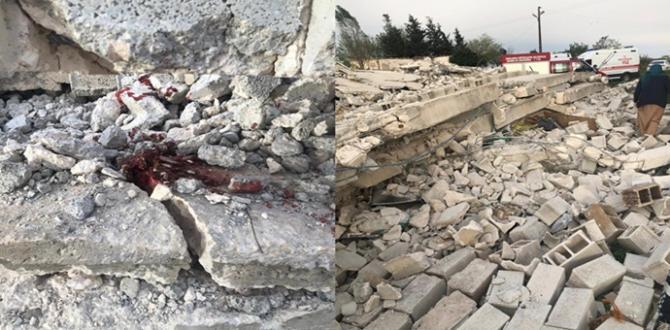 Ev Çöktü: 1 Ölü, 2 Yaralı