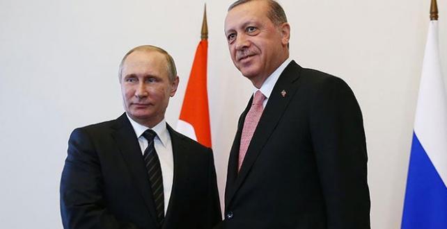 Cumhurbaşkanı Erdoğan, Rusya Federasyonu Devlet Başkanı Putin ile telefonda görüştü