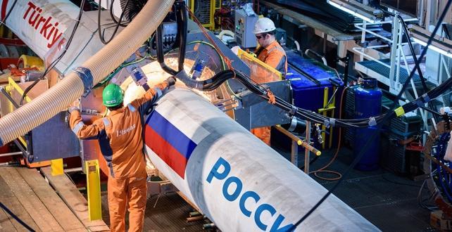 Markelov, TürkAkım boru hattı projesinde ilk doğal gazın 31 Aralık'ta sevk edilmesinin planlandığını açıkladı