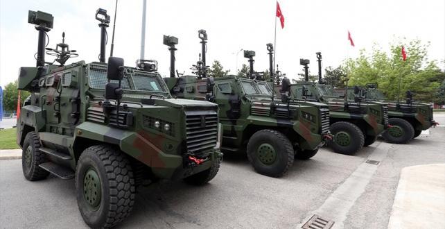 20 Ateş Mobil Sınır Güvenlik Sistemi göreve başlıyor
