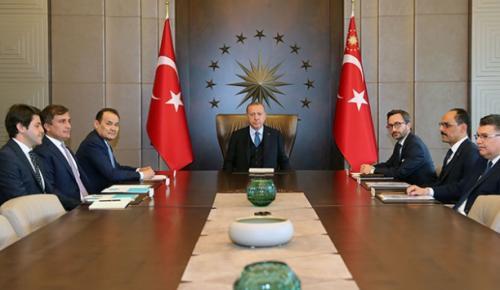 Cumhurbaşkanı Erdoğan, Türk Konseyi Genel Sekreteri Amreyev'e, Türk Konseyi'nin İstanbul'da  İstedi