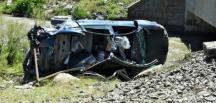Muş'ta trenin hemzemin geçitinde kaza