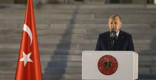 """Cumhurbaşkanı Erdoğan, """"82 milyon vatandaşımızı 'Türkiye ortak paydası' Hepimiz 82 milyonluk Türkiye gemisinin yolcularıyız"""