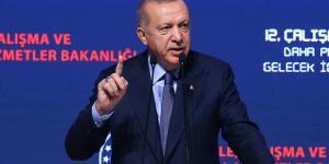 """Erdoğan, """"Maruz kaldığımız tüm ekonomik saldırılara rağmen hedeflerimize doğru yürümeye devam ediyoruz"""