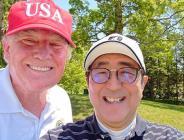 ABD Başkanı Donald Trump, Japonya'da Başbakan Shinzo Abe ile golf oynadılar