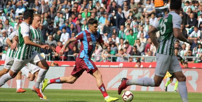 Atiker Konyaspor ile Trabzonspor 2-2 berabere kaldı