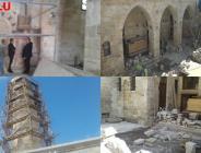 Şanlıurfa Vakıflar bölge müdürlüğü tarihi camilere restorasyon çalışması
