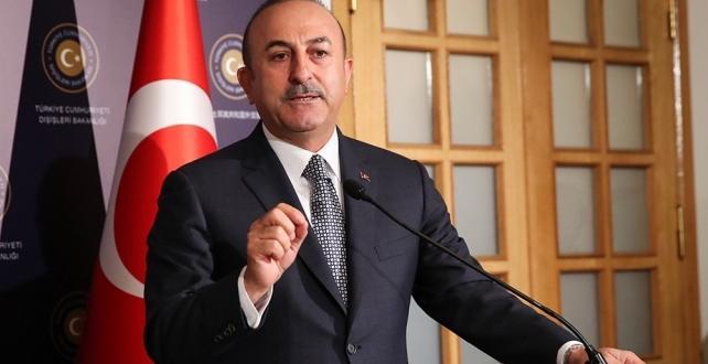 """Dışişleri Bakanı Çavuşoğlu, İzlanda'da A Milli Futbol Takımımıza yapılan saygısızlıkla ilgili """"Kabul edilemez"""