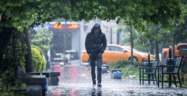 Ankara genelinde kuvvetli ve gök gürültülü sağanak ile dolu yağışı bekleniyor