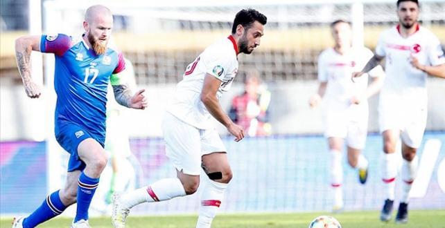 Türkiye, İzlanda'ya 2-1 mağlup oldu