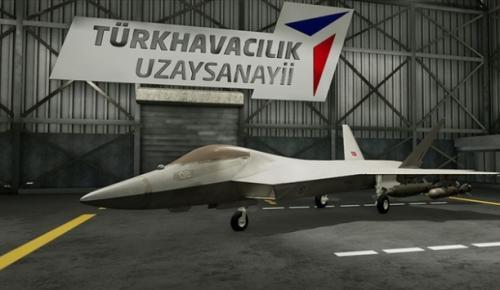 İlk kez Paris Airshow'da sergilenecek birebir ölçeklerdeki Milli Muharip Uçak'ın Sergilenecek