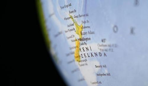 Yeni Zelanda'nın Kermadec Adaları'nda meydana gelen 7,4 büyüklüğündeki deprem