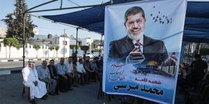 Gazze ve Katar'da ilk Cumhurbaşkanı Muhammed Mursi için taziye çadırları kuruldu