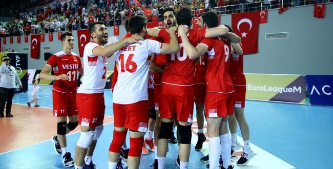 A Milli Erkek Voleybol Takımı, Dörtlü Final organizasyonuna katılma hakkı elde etti