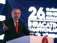 Cumhurbaşkanı Erdoğan, Türkiye İhracatçılar Meclisi Olağan Genel Kurulun'da konuştu
