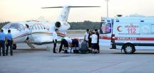 Balıkesir'de vücutlarında yanık oluşan 3 çocuktan 2'si, ambulans uçakla Ankara'ya gönderildi