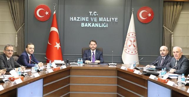 Hazine ve Maliye Bakanı Albayrak, FİKKO'nun Toplantısı yapıldı