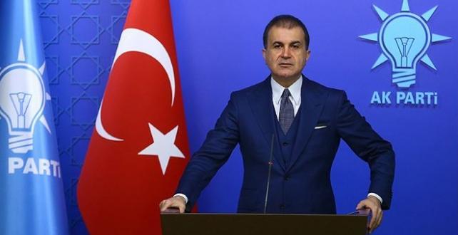 """AK Parti Sözcüsü Çelik, """"Avrupa Birliği, Rum tarafının peşine takılarak sorun çıkarıyor"""
