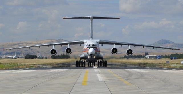 S-400 Uzun Menzilli Bölge Hava ve Füze Savunma Sistem malzemelerinin sevkiyatı devam ediyor