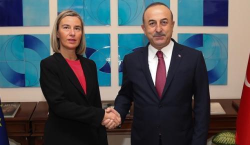 Bakan Çavuşoğlu, Dışişleri ve Güvenlik Politikaları Yüksek Temsilcisi ve AB Komisyonu Başkan Yardımcısı Federica Mogherini ile telefonda görüştü