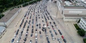 Beş sınır kapısından 1-15 Temmuz tarihleri arasında 112 bin 837 araç giriş yaptı
